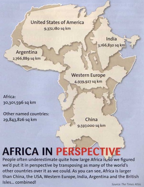 SomeoneTellDonaldTrump Africa Is A Continent And Not A Country - Africa map can fit us and europe